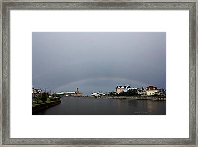 Two Pots Of Gold Framed Print by Russell  King