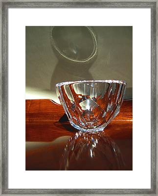 Framed Print featuring the photograph Two Reflections by Mary Bedy