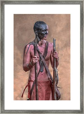 Two Rifles Framed Print