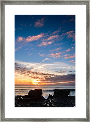Two Rocks Framed Print by Marco Oliveira