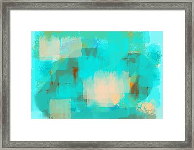 Two Sided World Framed Print