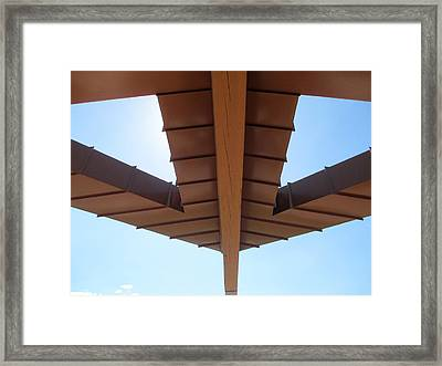Two Sides To This Story Framed Print by Randall Weidner
