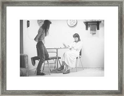 Two Sisters Project 26 Framed Print by Steven Macanka