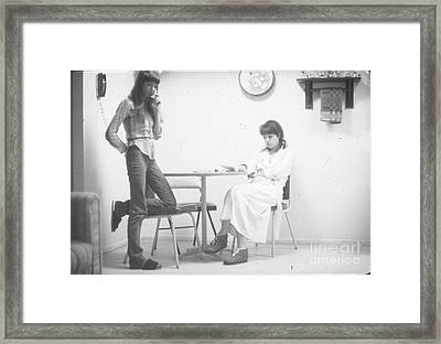 Two Sisters Project 27 Framed Print