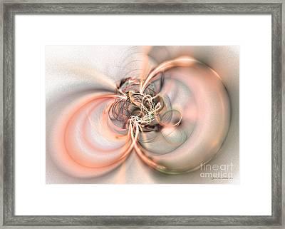 Two Souls - Surrealism Framed Print