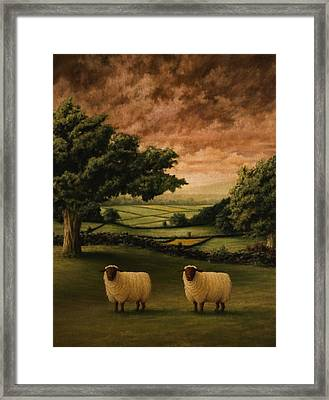 Two Suffolks Framed Print by Mark Zelmer