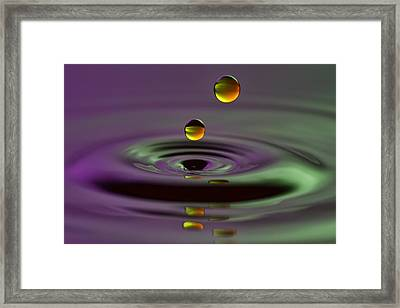 Two Suns Framed Print
