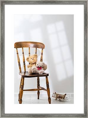 Two Teddies Framed Print