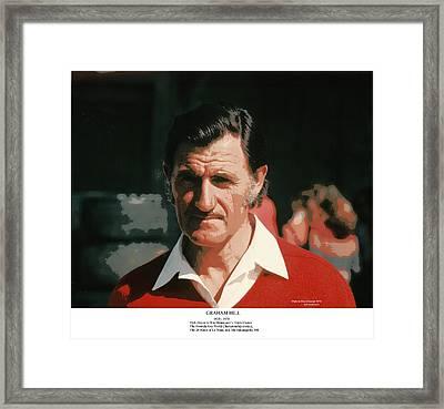 Two-time Formula One World Champion Graham Hill Framed Print