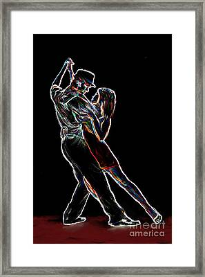 Two To Tango Framed Print