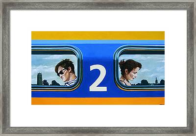 Two To Zaltbommel Framed Print by Jo King