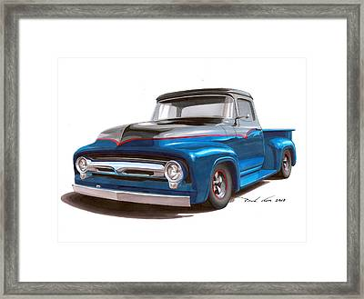 Two Tone To Know Framed Print by Paul Kim