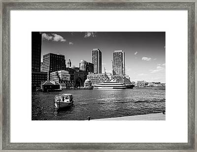 Two Towers Original Available Framed Print by Joelle Hainzelin