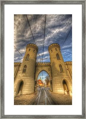 Two Towers Potsdam Framed Print by Nathan Wright