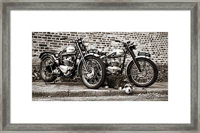 Two Trophy's One Dog Framed Print by Mark Rogan