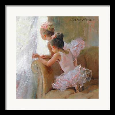 Child Ballerinas Framed Prints