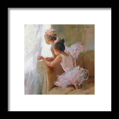 Ballerina Framed Prints