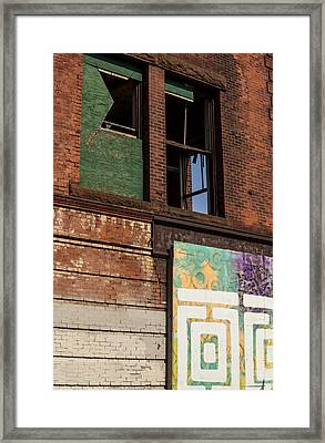 Two Types Of Art Framed Print by Karol Livote