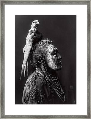 Two Whistles  1908 Framed Print by Daniel Hagerman
