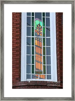 Two Windows At St. John Framed Print by Jennifer Apffel