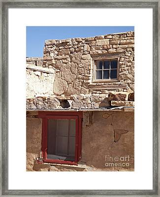 Two Windows Framed Print by Jennifer Nelson