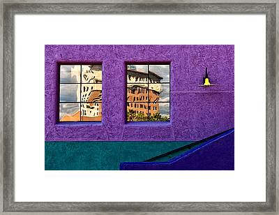 Reflections Framed Print by Maria Coulson