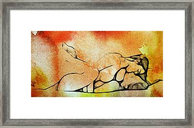 Two Women 2 Framed Print by Steve K