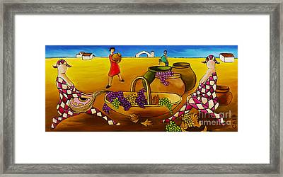 Two Women With Mandolins Framed Print