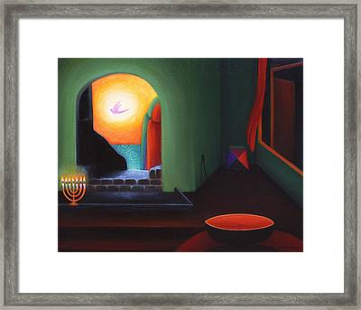 Two Worlds Framed Print