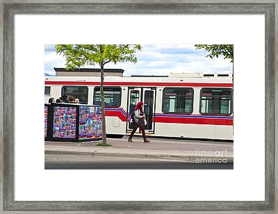 Framed Print featuring the photograph Two Worlds by Sandi Mikuse