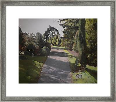 Two's Company Framed Print by Cherise Foster