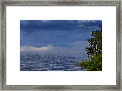 Twisting Water Framed Print