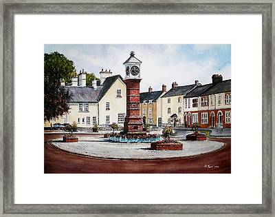 Twyn Square Usk Wales Framed Print by Andrew Read
