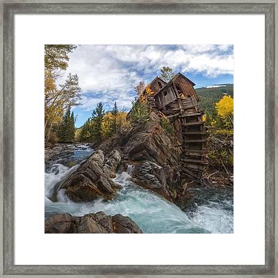 Twystal Mill Framed Print by Dustin  LeFevre
