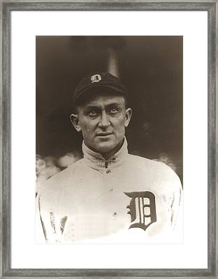 Ty Cobb 1915 Framed Print by Unknown
