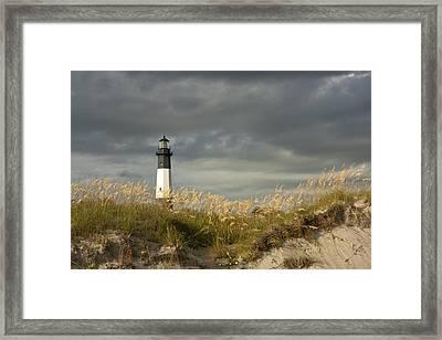 Tybee First Light Framed Print