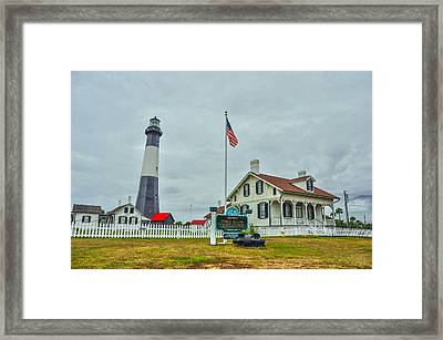 Tybee Island Lighthouse Framed Print by Donnie Smith