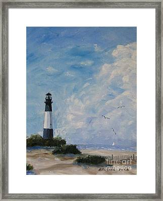Tybee Light Framed Print