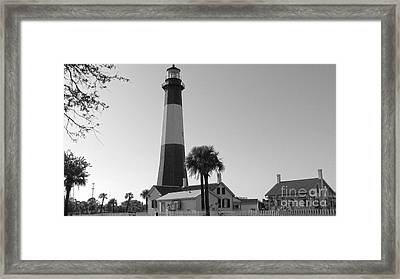 Tybee Lighthouse 1 Framed Print