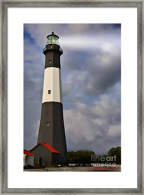 Tybee Lighthouse Framed Print