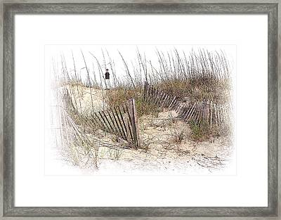 Tybee Lighthouse Framed Print by Marcia Colelli