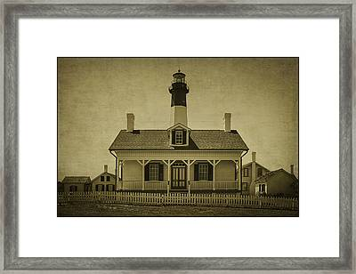 Tybee Lighthouse Framed Print by Priscilla Burgers