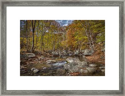 Tye River Framed Print