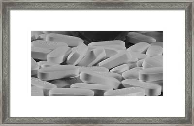 Tylenol Framed Print