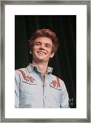 Tyler Hilton Framed Print by Concert Photos