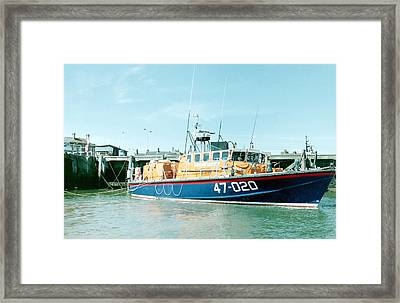 Tyne Class Lifeboat 47-020  Framed Print by Ted Denyer