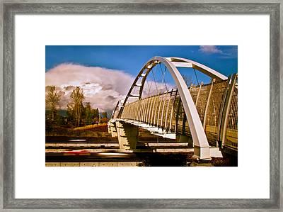 Tynehead Overpass Framed Print