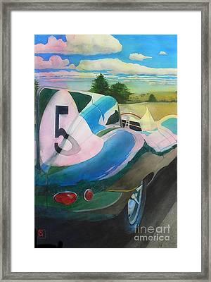 Type D Framed Print by Robert Hooper