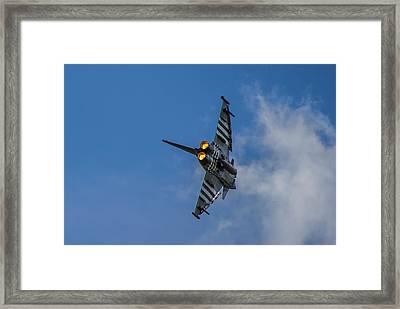 Typhoon Jet Framed Print