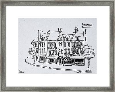 Typical Architecture Of Saint-omer Framed Print